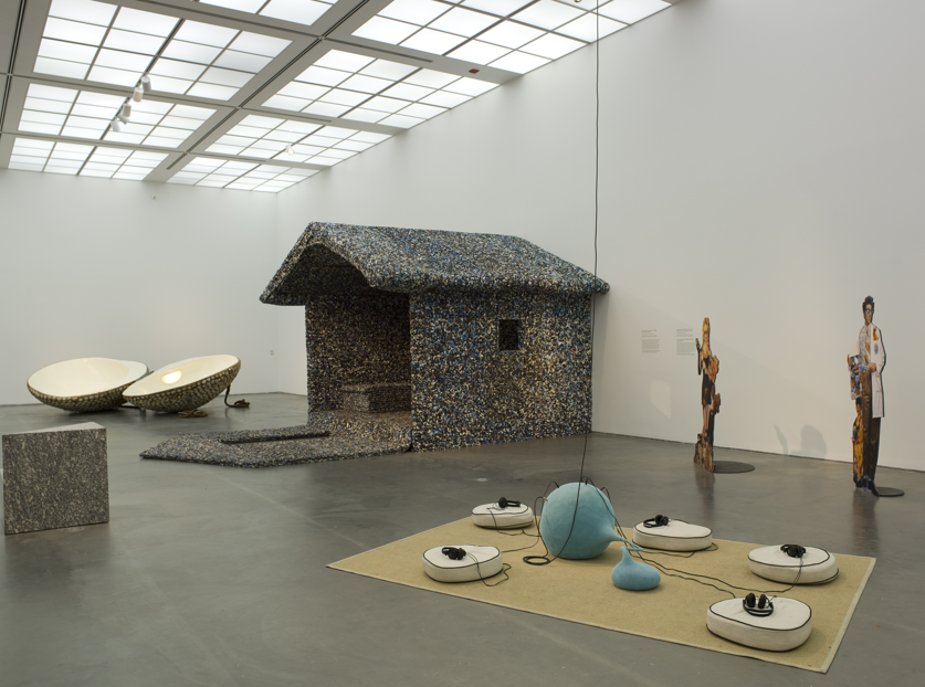 """Above: Installation view of """"Without You I'm Nothing: Art and Its Audience"""" at the Museum of Contemporary Art Chicago. Photo: Nathan Keay, © MCA, Chicago."""