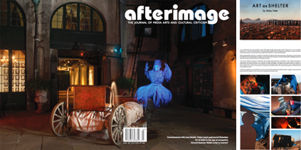 Afterimage 39.5 - Cover and Portfolio