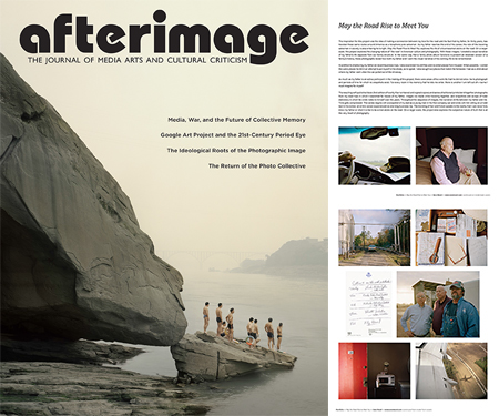 Afterimage 40.4 - Cover and Portfolio