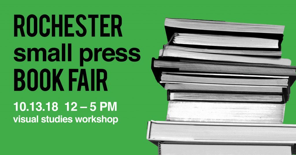 Rochester Small Press Book Fair | Visual Studies Workshop