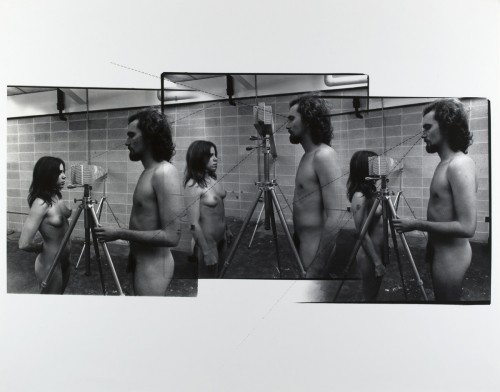 <strong>Bart Parker</strong>Behind the Eye Level of Stick,1975Gelatin silver print,27.9 x 35.6 cmVisual Studies Workshop Collection,Gift of the artist1981:0093:0046
