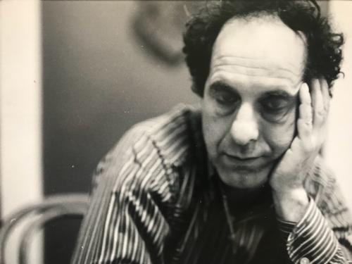 Robert Frank by Joan Lyons circa 1971