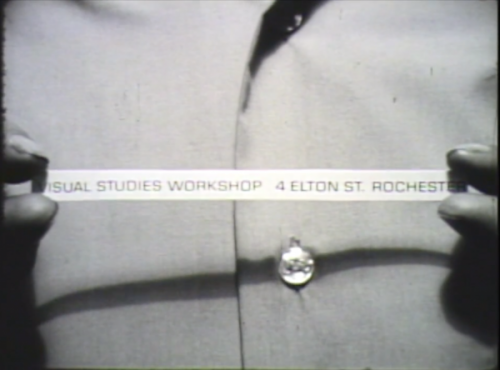Still from ABOUT US (1972) by VSW students and Robert Frank