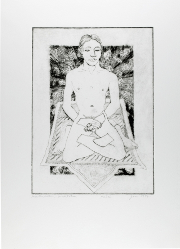 <strong>Keith Smith</strong>Masturbation Meditation,1976Photo etching, 20.40 x 15.00 cm (image)Visual Studies Workshop Collection, Gift ofthe artist1977:0070:0014
