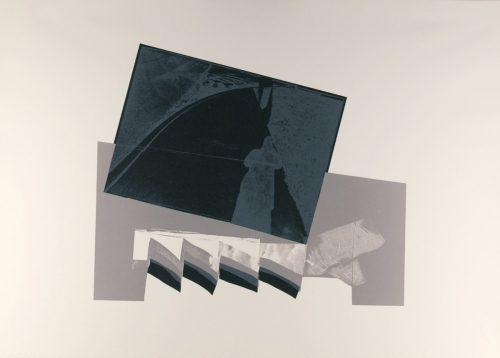 <strong>John Wood</strong>Untitled, A Portfolio of Offset Lithographs [3 of 12],1980Offset photo-lithograph, 45 x 63 cm diameterVisual Studies Workshop Collection,Gift of the artist1975:0103:0003