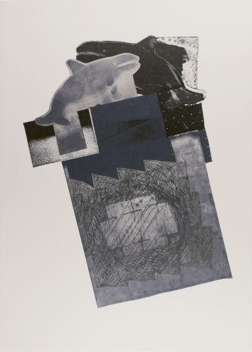 <strong>John Wood</strong>Untitled, A Portfolio of Offset Lithographs [1 of 12],1980Offset photo-lithograph, 63 x 45 cm diameterVisual Studies Workshop Collection,Gift of the artist1975:0103:0001